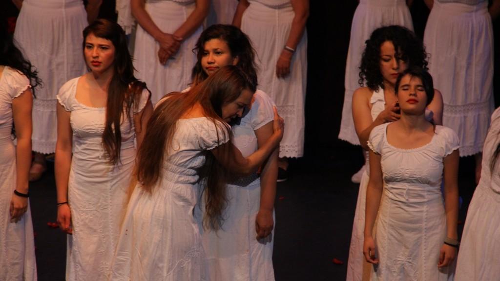 Huellas. Foto: Teatro la Candelaria
