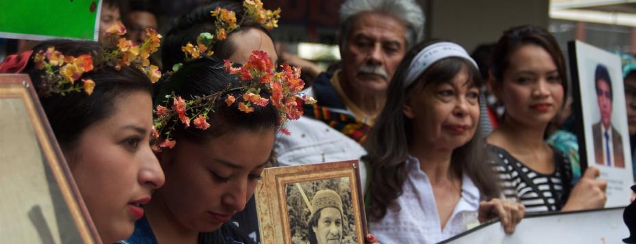 Foto: Familiares de desaparecidos por la paz. Agencia Prensa Rural